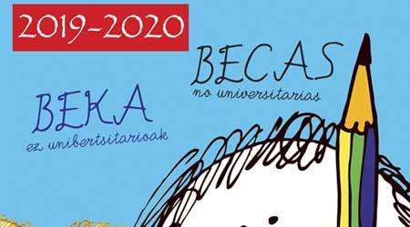 Beka-eskabideak 2019-2020