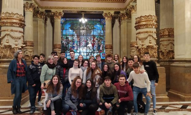 Baccalaureate second year students trip